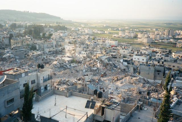 The Jenin rubble pile