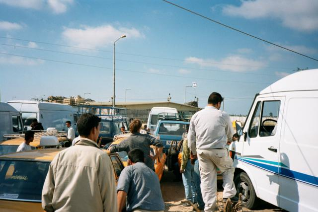 Abu Houli traffic jam